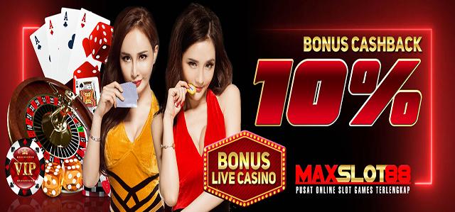 bonus cashback live casino